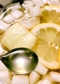 喉に効く!はちみつ大根レモン生姜