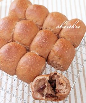 お手軽ちぎりパン*チョコチップココアパン