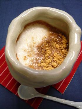 これ1杯で朝から元気!豆乳ココア汁粉