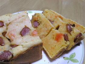 HBで簡単お食事パンケーキ★