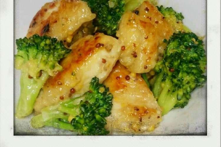 肉 ブロッコリー 胸 鶏