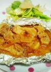 豚肩ロースの味噌バターホイル焼き