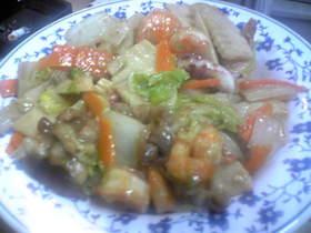 白菜を使った料理の定番★八宝菜