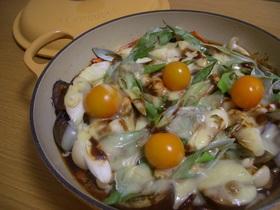 茄子ときのこの赤味噌マヨグラタン
