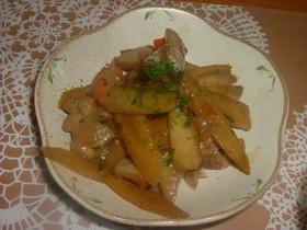 ご飯にあう!ごぼうと鶏肉のきんぴら風煮物