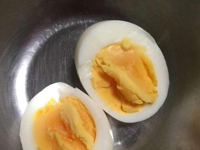 失敗 しない 半熟 卵