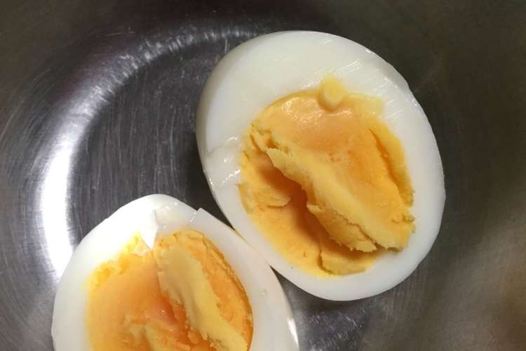 卵 時間 ゆで