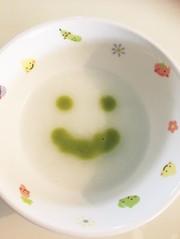 そら豆粥(離乳食初期)の写真