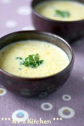 ぽかぽか 粒々コーンスープ