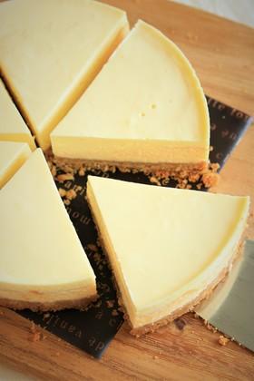 二層仕立ての濃厚チーズケーキ