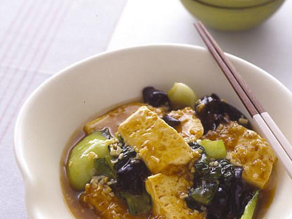 豆腐のピリ辛うま煮