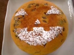 ハロウィン♪炊飯器deかぼちゃパンケーキ