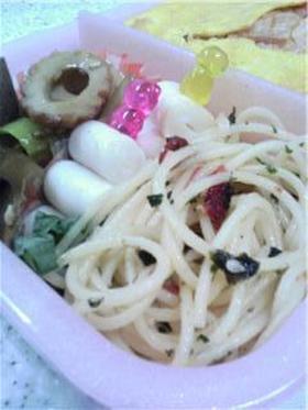 簡単!スパゲッティ&ふりかけでお弁当☆★
