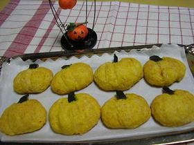 簡単かぼちゃのクッキー