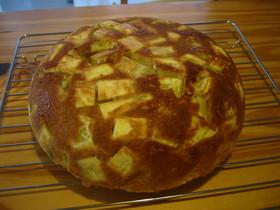 さつまいもと洋ナシの炊飯器ケーキ
