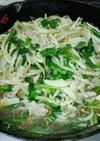 中華の香り❤豚バラニラもやし炒め
