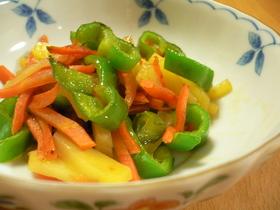 野菜の甘辛炒め