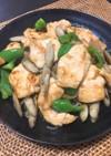 鶏胸肉と白滝のダイエット炒め