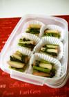 冷凍ストック☆小松菜と蒲鉾のサッと煮♪