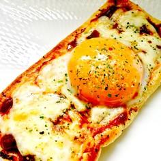 【糖質制限】簡単!油揚げピザ