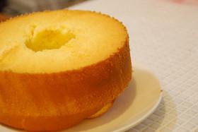 さつまいも&チーズシフォンケーキ