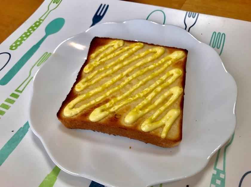 癖になる美味しさ!マヨハニートースト