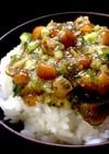 ご飯がススムなめこときゅうりと納豆昆布