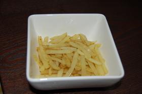 ジャガイモカレー炒め(シャキシャキ)