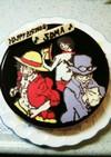 キャラケーキ ワンピース2