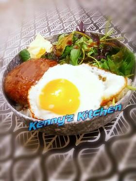 男の料理☆ガッツリ食べるロコモコ丼!