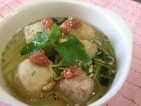 里芋の揚げ出し 松茸風味