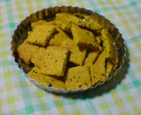 おからとかぼちゃのクッキー