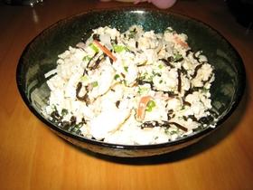 豆腐で簡単一品