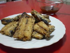 焼き魚で☆秋刀魚の竜田揚げ