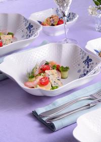 エビと夏野菜の彩りサラダ
