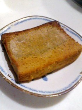 カステラのトースト