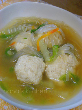 暖まってお腹いっぱい♪あっさり中華スープ