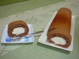 ティラミス風☆ロールケーキ
