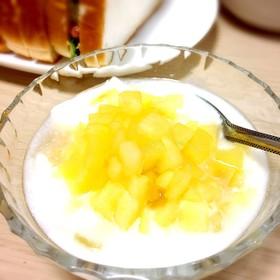 朝食に☆蜂蜜とりんごのヨーグルト☆