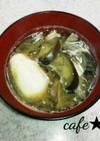 次の日が楽しみ♥茄子の味噌汁+卵
