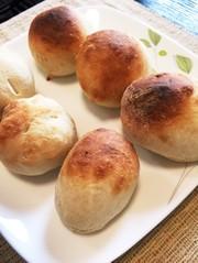 手作り♪基本の丸パンの写真