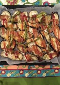 キューピーマヨソースの夏野菜オーブン焼き