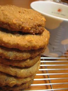 押し麦のガリゴリクッキー(卵無し)