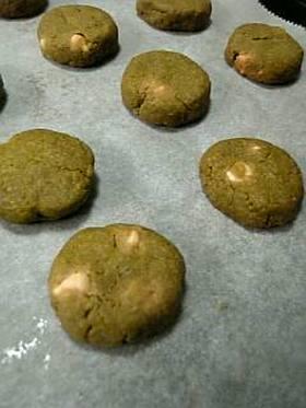和香る♪抹茶きなこクッキー