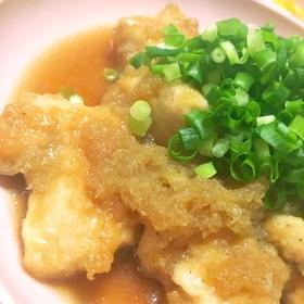 簡単おふくろの味♡鶏胸肉のみぞれ煮♡