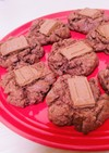 *簡単ダブルチョコクッキー*