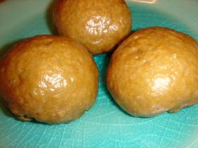 小麦まんじゅう(黒糖風味)