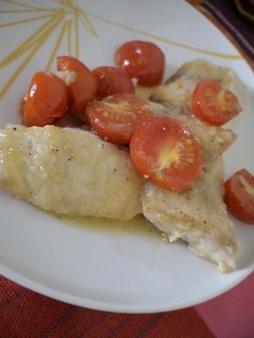 白身魚イタリア風