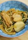 ヘルシー!鶏肉と山芋の和風ほっこり炒め煮