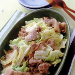 豚肉とキャベツのレモンしょうゆ炒め